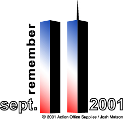 Remember 9-11-01 - Permission granted to copy this image for non profit only.